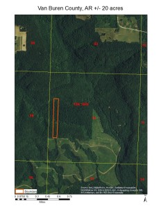 +/-20 acres with Cabin near Clinton, AR